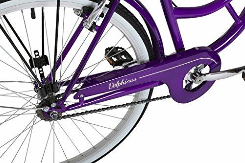 51qv6SDMOgL - Barracuda Women's Delphinus Bike, Purple, Size 19
