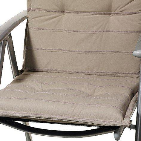 Sun Garden Naxos 10115545 Cuscino Design No. 50208-5 per Low-Backed Chair poliestere / Ciniglia