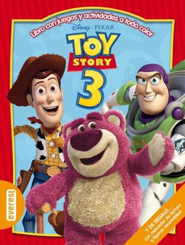 Toy Story 3.: Libro con juegos y actividades a todo color (Multieducativos Disney)