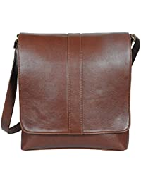 O.K. International Synthetic Leather Brown Sling Bag (OKFMSLNFLPNWZHBR)