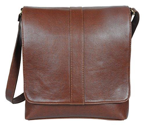 O.K. International Synthetic Leather Brown Sling Bag (OKFMSLNFLPNWZHBR)