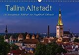 Tallinn Altstadt (Wandkalender 2019 DIN A3 quer): Rundgang durch die mittelalterliche Alstadt Tallinns (Monatskalender, 14 Seiten ) (CALVENDO Orte)