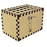 Azeeda 'Homme de Golfeur' Crayon Bloc / Titulaire (PB00012305)