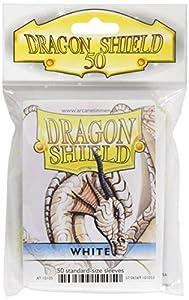 Arcane Tinman Dragon Shield - Juego de Cartas (50 Unidades), Color Blanco
