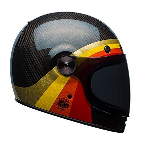 Bell Bullitt carbono química Candy casco de moto, Black Gold, medium