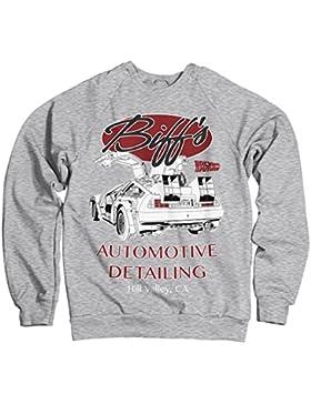 Licenza Ufficiale Biff's Automotive Detailing Felpa (Grigio chiaro)