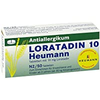 Loratadin 10 Heumann, 50 St. Tabletten preisvergleich bei billige-tabletten.eu