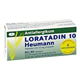 Loratadin 10 Heumann, 50 St. Tabletten