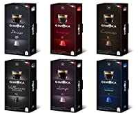 100 Nespresso Compatible Coffee Capsules - Gimoka Coffee