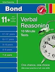 Bond 10 Minute Tests Verbal Reasoning 7-8 years by Frances Down (2009-06-22)