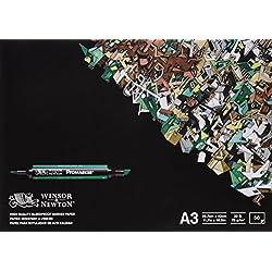 Winsor & Newton Bleedproof Bloc de Papier 50 feuilles A3