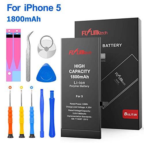 Batería iPhone 5 1800mAH Reemplazo Alta Capacidad