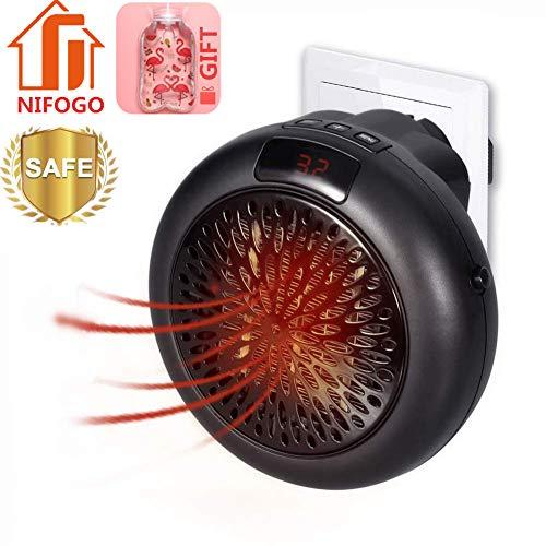 Mini Heater - Estufa Eléctrica Portatil 1000 W Termostato