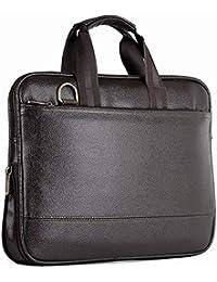 DARA Artificial Leather Handmade Men/Women Laptop Bag Cross Over Shoulder Messenger Bag Office Bag