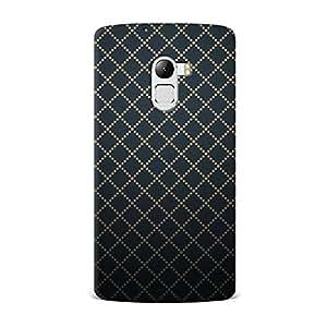 Lenovo K4 Note Case, Lenovo K4 Note Hard Protective SLIM Cover [Shock Resistant Hard Back Cover Case] for Lenovo K4 Note -Dotted Diamonds Pattern