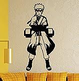 WandTattoo Naruto–Naruto Uzumaki, vinilo, negro, large