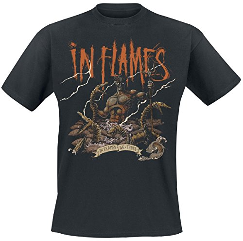 In Flames Aquarius T-Shirt nero L