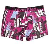 Calvin Klein -  Boxer aderenti - Uomo Destruction Print Roseate Medium