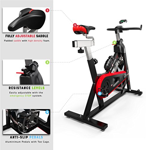 We R Sports SP-BIK-101 Heimtrainer-Fahrrad - 3
