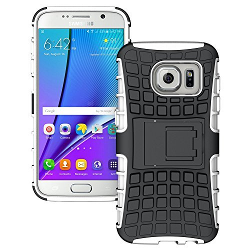 Samsung Galaxy S7 – Stylish Heavy Duty Hard Back Armor Shock Proof Case Cover with Back Stand Feature & Free Screen Protector by Accessories Collection