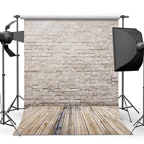 Garden hall Backsteinmauer Fotografie Hintergrund Tuch Baumwolle Studio Foto TV Hintergrund Wand 5x7ft (Color : C) (Studio-hintergrund Tv)
