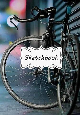 Sketchbook : Bicycle: 100+ Pages of 7