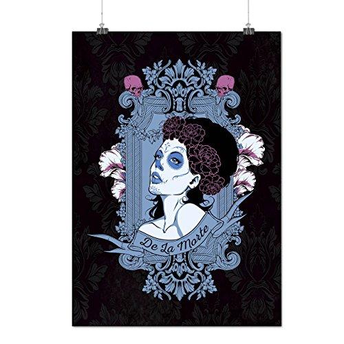 Japanische Kostüm Mädchen Krieger (Mädchen de La Morte Horror Mattes/Glänzende Plakat A3 (42cm x 30cm) |)