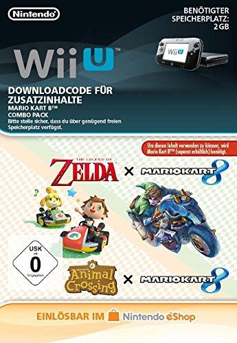 Mario Kart 8 Combo Pack (Zelda & ANCL) DLC [Wii U Download Code]