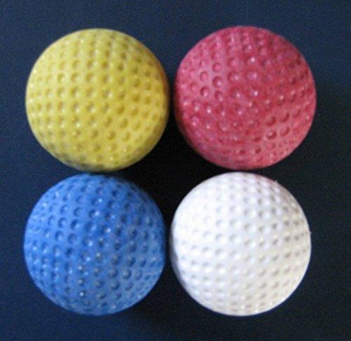Golfas Minigolfbälle 4er Pack - für Jede Anlage -
