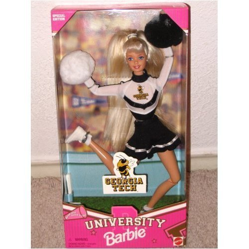 Georgia Tech University Cheerleader - Cheerleader-barbies