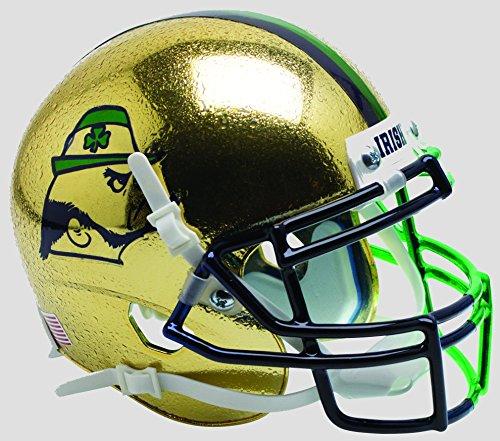 Schutt NCAA Notre Dame Fighting Irish Mini Authentic XP Fußballhelm, Unisex, NCAA Notre Dame Fighting Irish Mini Authentic XP Football Helmet, Shamrock Series 2015 Alt.9, Mini