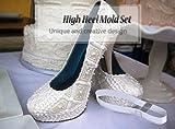 3d High Heel Schuh-form, Silikon Sc...