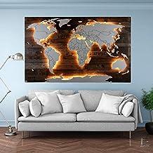 Suchergebnis Auf Amazon De Fur Weltkarte Beleuchtet