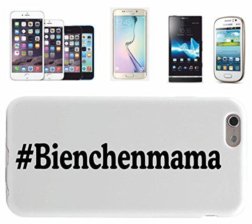 Smartphone Case # Bienchen Mama per Apple Iphone 4/4S, 5/5S, 5C, 6/6S, 7& Samsung Galaxy S4, S5, S6, S6Edge, S7, S7Edge Huawei HTC Social Tutorial Hashtag