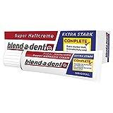 Blend-a-dent Super-Haftcreme Complete extra stark, 12er Pack (12 x 47 g)