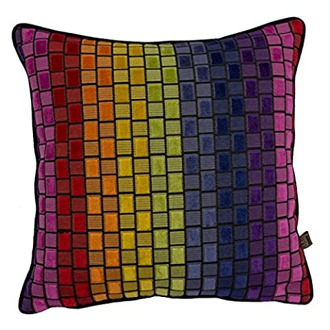 Scatter Box Cubist Feather Filled Cushion, Multi, 43 x 43 Cm