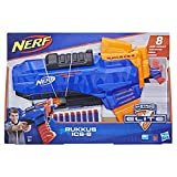 Nerf Rukkus ICS-8 et Flechettes Elite Officielles, E2654EU4, Multicolour