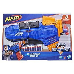 Nerf Elite Rukkus - Lanzador con dardos, Multicolor (Hasbro E2654EU4)