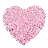Aquarium Perles, INTVN Perles Fishbowl Plastique Poisson Bol Slime Perles Vase de remplissage Perles pour Homemade Slime DIY Crafts Décorations, 500g, Rose