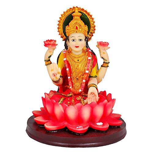 k.s Lakshmi Showpiece realizzata finemente migliore qualità resina prosperità Laxmi Gift for Good Luck