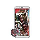 atFolix Schutzfolie passend für bq Aquaris C Folie, entspiegelnde & Flexible FX Bildschirmschutzfolie (3X)