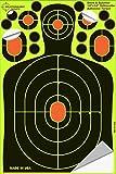 Splatterburst Targets - 25 bersagli adesivi con sagoma, per tiro al bersaglio, 30.5 cm x 20.3 cm