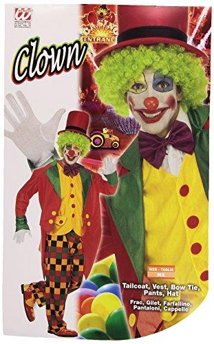 Imagen de widman  disfraz de payaso de circo para hombre, talla uk 44  46 w3169 xl