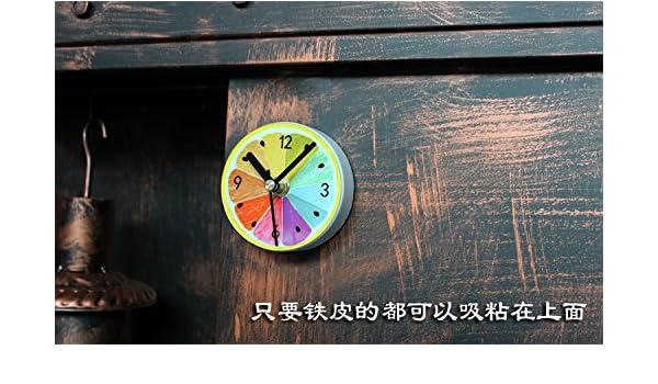 Kühlschrank Uhr Magnetisch : Ein idyllischer obst zitrone kühlschrank pasten magnet uhr