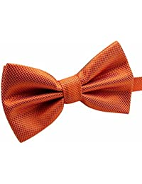 484145378978 AINOW Men's Plaid Pattern Formal Pre-tied Bowties Banded Bow Ties
