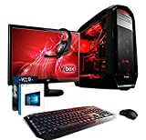 VIBOX Aries Paquete 6 - Ordenador de sobremesa (Intel Core i7-4790K, 32 GB de RAM, Disco hibrido de...
