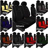 POKTER-ALC T4 1+2 Paßgenaue Sitzbezüge Exclusive Kunstleder mit Alkantra in 9 Farben