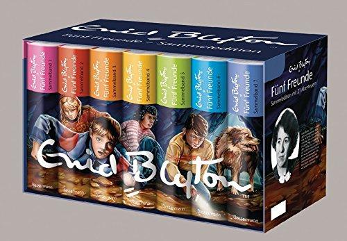 Fünf Freunde - Die Sammeledition, 7 Bände im Geschenkschuber