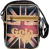Gola, Sac bandoulière pour femme Black/Gold/Multi W20CM X H27CM