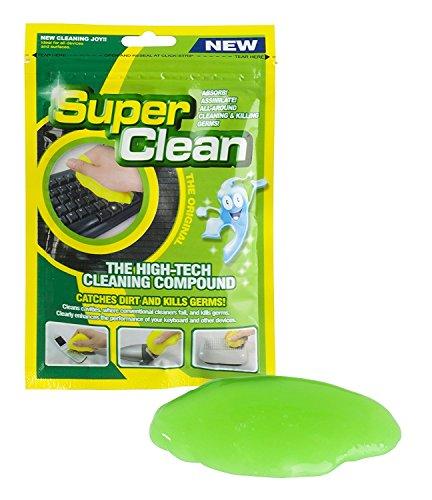 TRIXES Limpiador Reutilizable Polvo Suciedad de Teclado para tu Ordenador, Móvil y Otros Artículos Diarios